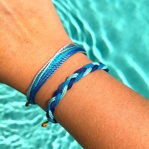 🍇🌿Handmade Adjustable Bracelet Set 🌿🍇